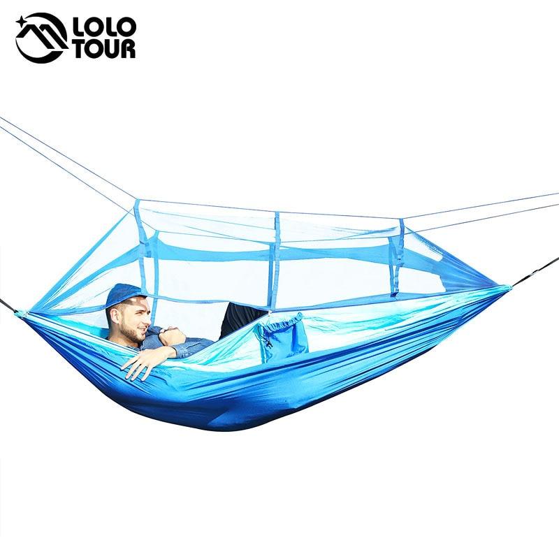 Portable Mosquito Net Hammock Tent 5
