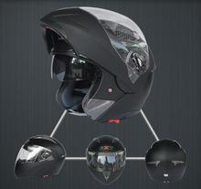 Super high quality! Motorcycle full Helmet moto With Inner Sun Visor Everybody Affordable Double Lens Motorbike Helmet