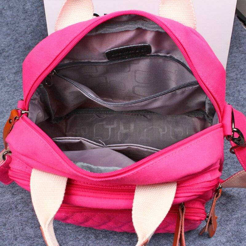 MIWIND 2017 nouveau sac à main de mode pour femme mignon fille sac fourre-tout dame toile sac à bandoulière femme grande capacité sac de loisirs TZM1136 - 5