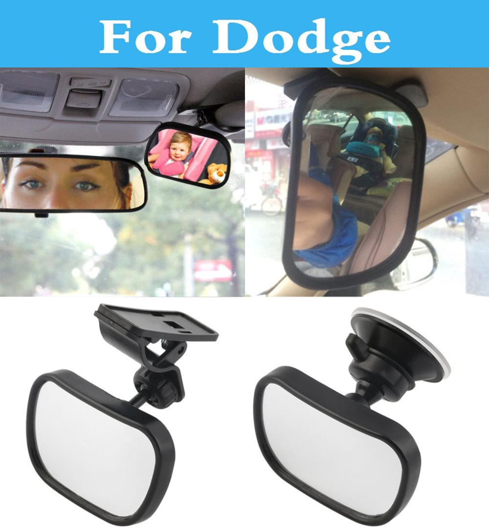 Universal Car Rear Seat View Mirror Baby Child Safety holder For Dodge Avenger Caliber Challenger Charger Dart Durango