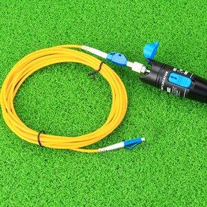 Image 2 - KELUSHI 1 мВт новый FTTH Оптический металлический оптоволоконный тестер с LC/FC/SC/ST адаптером оптоволоконный кабель визуальный локатор ошибок для CATV