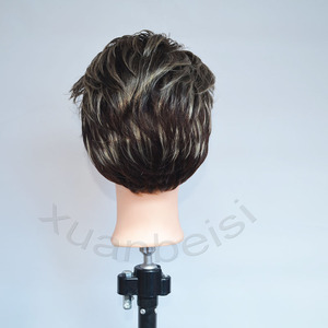 Image 2 - Bald Head Training Head for practice makeup  women Mannequin Head for Wig Hat Display With free stand Hair finishing Wig Stand