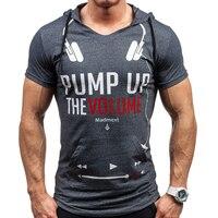 Brand Men S T Shirt Hooded T Shirt Hot Spring Summer New Arrival Men S Short
