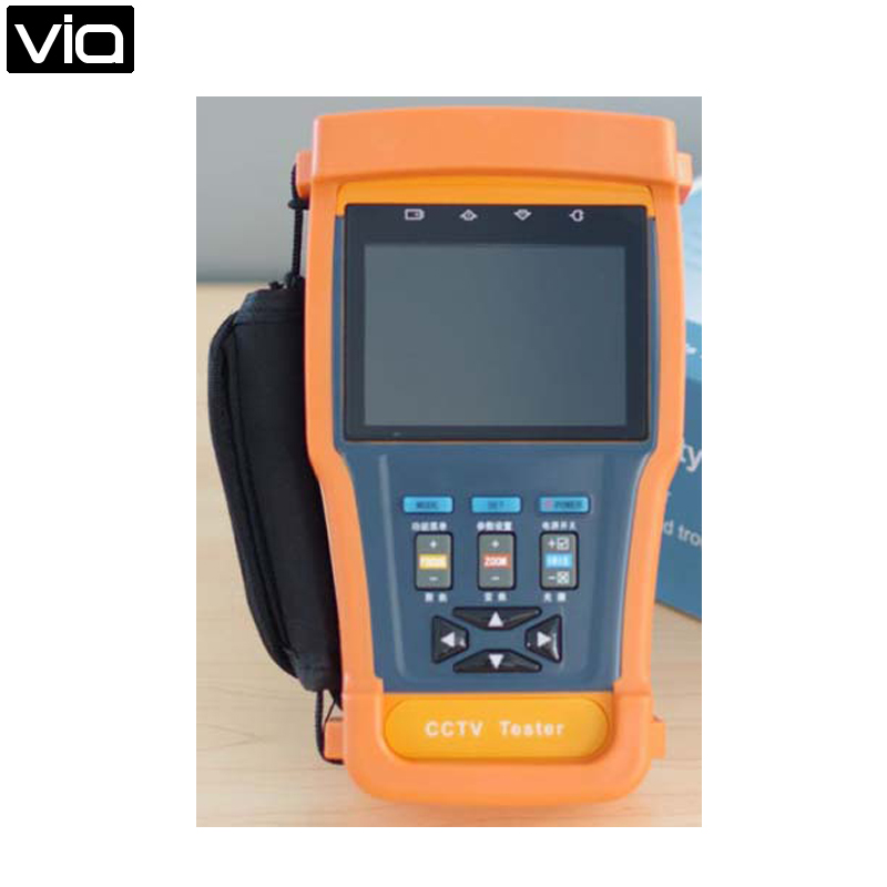 DT-N91 Free Shipping 3.5 LCD Monitor CCTV Tester for CCTV Camera Video Audio PTZ UTP Testing Surveillance st4000pro with ce certification factory provide cctv camera tester monitor