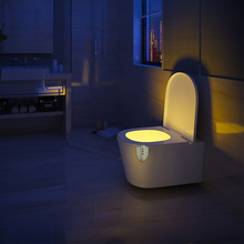 Night Light Toilet Bowl -Sensor Activated – with UV Sterilization Toilet Light Motion