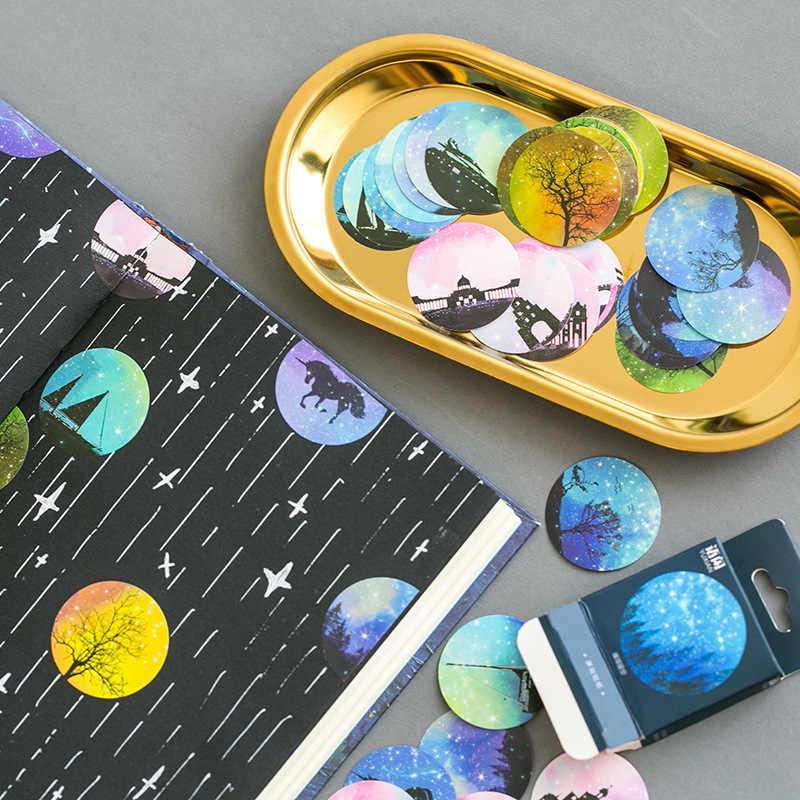 Lolede 50 шт./компл. наклейки Звездное небо мультфильм водяные DIY детские игрушки для детей подарок для мальчика девочки