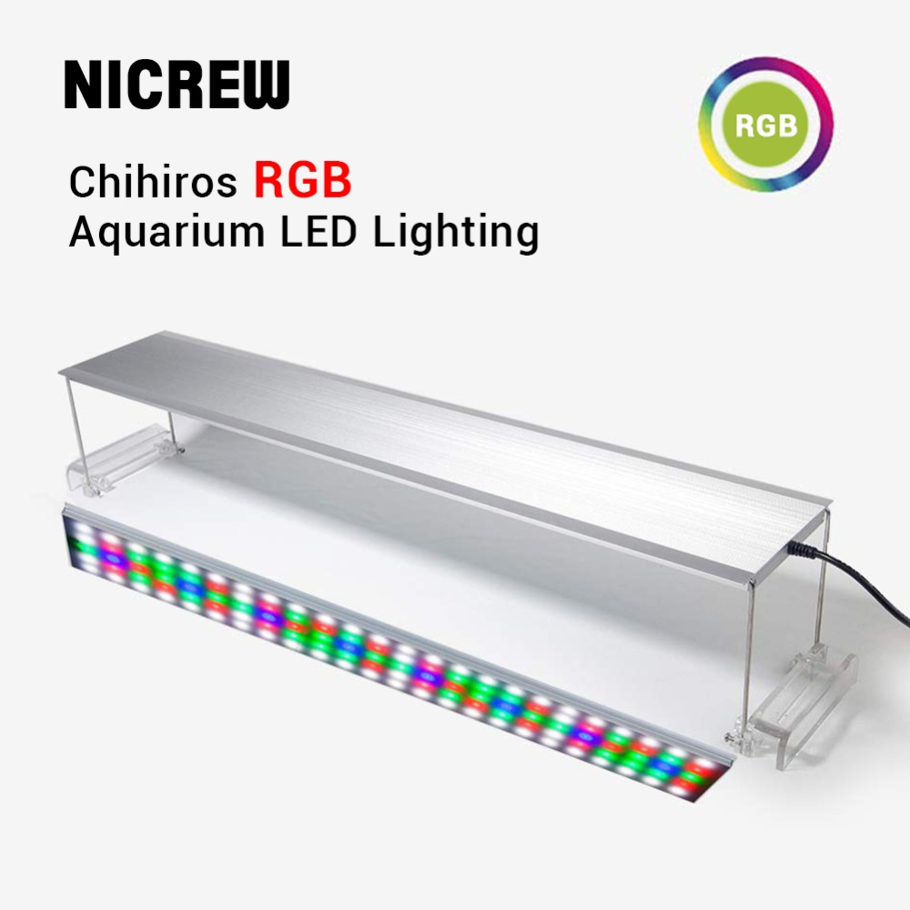 NICREW Chihiros RGB Series LED Lighting System Plant grow light aquarium water plant fish tank Multi color lights