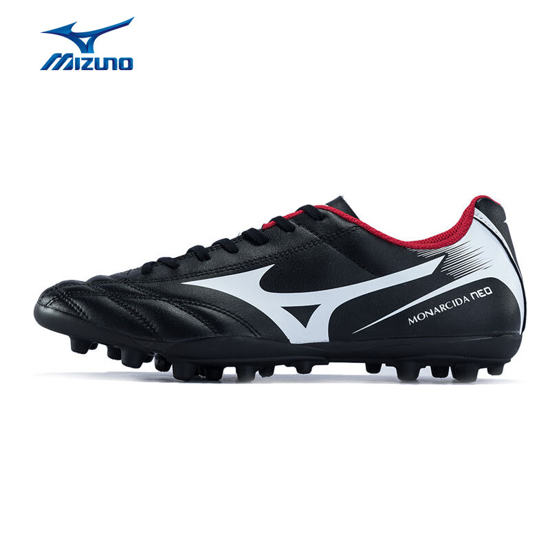 MIZUNO Men's MONARCIDA NEO AG Soccer Shoes Cushioning Slip-Resistance Sports Shoes Sneakers P1GA172501 YXZ050 mizuno men s sports beathable cushioning soccer shoes monarcida fs as light sport shoes sneakers p1gd152301 yxz003