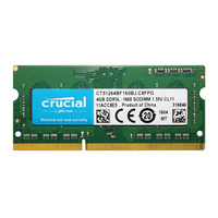 Brand New Crucial Laptop Memory Ram DDR3L 1600Mhz 1.35v 4GB 8GB for Notebook Sodimm Memoria Compatible with DDR3 1333MHz 1066Mhz