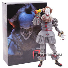 2017 Stephen King's It The Clown Pennywise PVC Action Figure Horror Collection Model Movable Figurine Toy(China)
