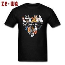 Bull Terrier Dog Pet Collection T Shirt Pug Poodle Beagle Dachshund Party Tshirts 3D Printed Animal Tee For Men Good