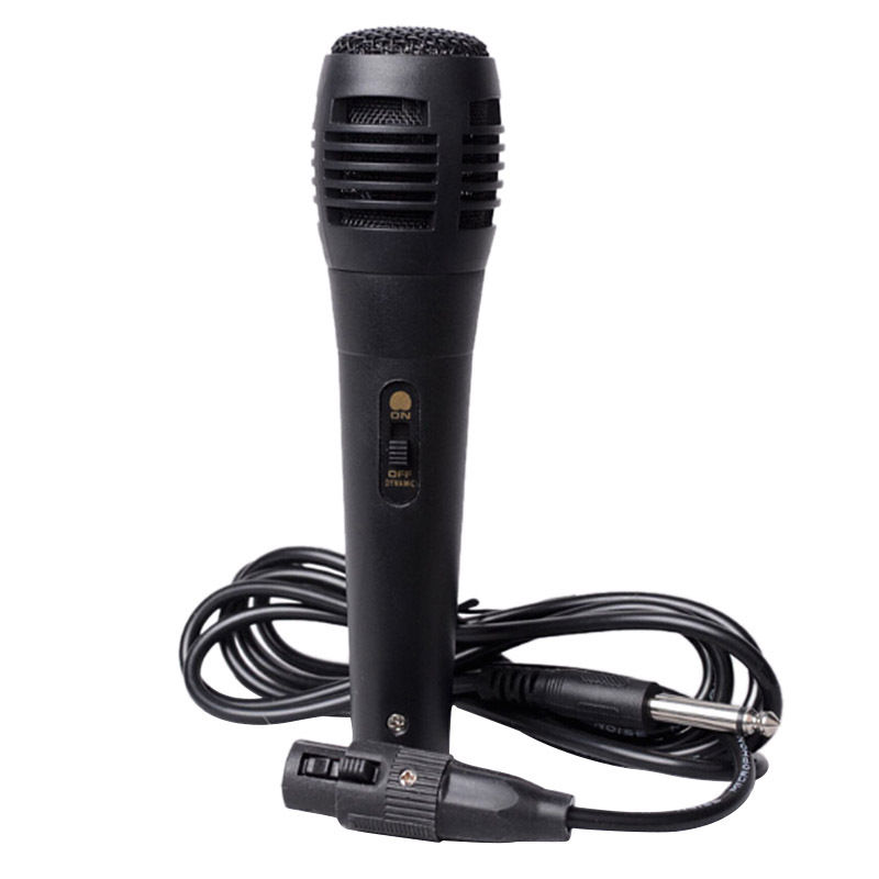 Professional Dynamic Handheld Wired Microphone 150cm Cable Uni-directional 2017