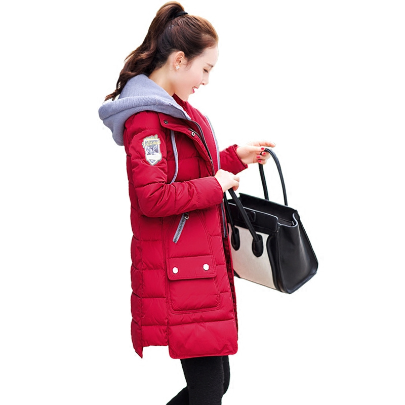 Plus Size XXXXL Winter Jacket Women Winter Coat Hooded Parka Jaqueta Feminina Women's Down Cotton Jacket Chaquetas Mujer C3622 plus size thick winter long jacket women coat fur hooded parka jaqueta feminina chaquetas mujer casacos de inverno feminino 1846