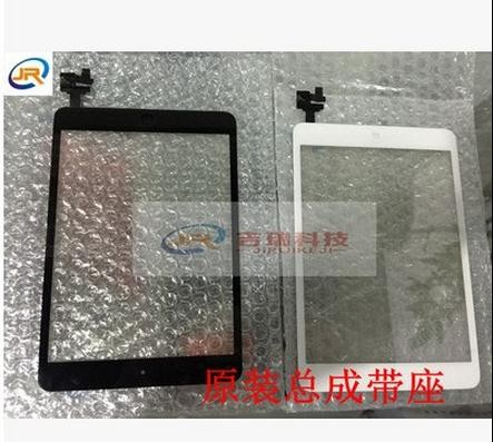 FOR IPAD mini A1432 Tested touch screen For Ipad Mini Touch Digitizer Screen + IC Flex Chip + Home Button Flex Black