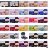 50 grams per person High-quality soft mink wool hand-knitted luxury long-wool cashmere Crochet knitted yarn