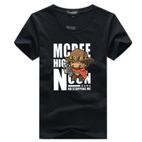 Cartoon McRae Print Men T-Shirts Big Size T shirt Funny Short Sleeve T Shirts Men's Brand Tee Shirts Casual Clothes