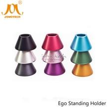 7 Colors Ego Metal Base Electronic Cigarette Accessory E Cig Display Holder E-cigarette Standing Holder for Ego Battery Jomo-44