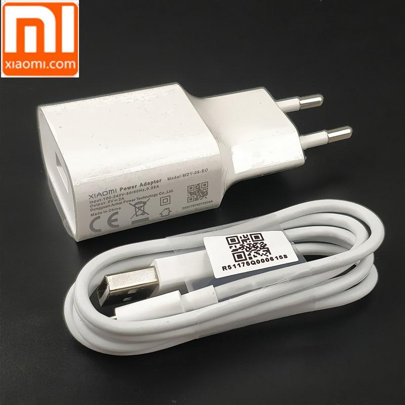 D'origine XIAOMI Redmi Chargeur 5 V 2A Adaptateur type c/micro usb Câble de Données pour xiaomi redmi4A 4X Note4x 4 4A 5 Note5A REDMI 5 plus