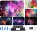 Adesivo decalque Para Macbook Air 11 12 13 Pro 13 15 17 Retina Laptop Cor Da Pele do Lado Esquerdo Do Cérebro Direito Estrelas Universo Protetora cartaz