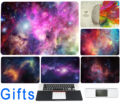 Decal For Macbook sticker Air 11 12 13 Pro 13 15 17 Retina Laptop Color Skin Right Left Brain Stars Universe Protective Poster