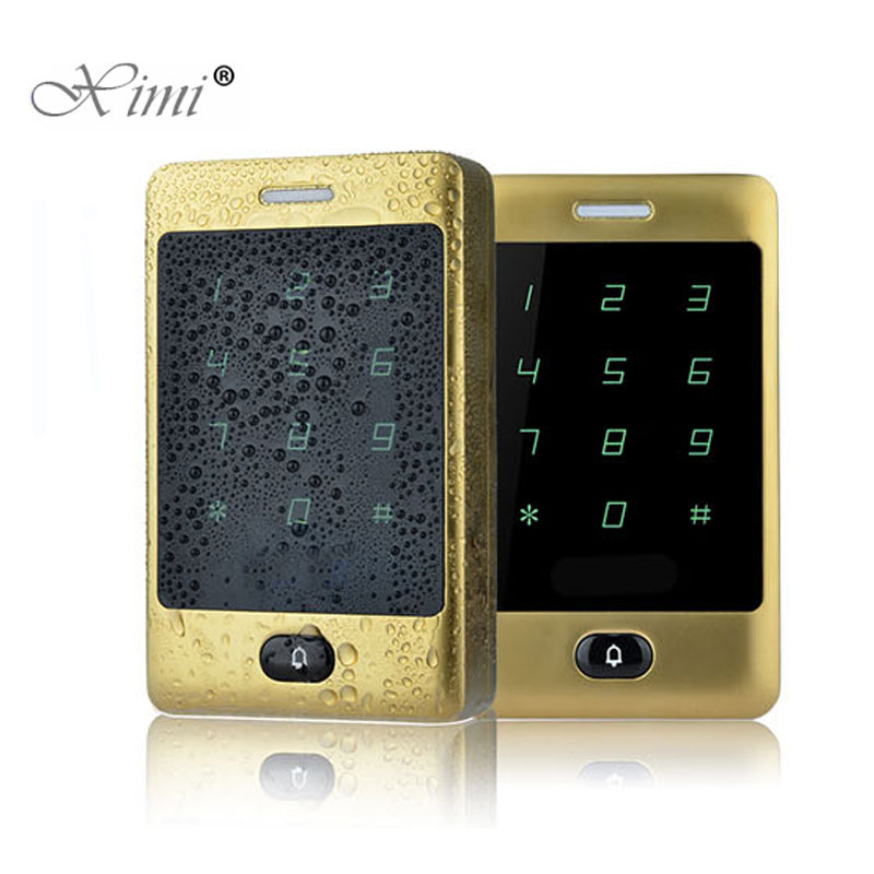 125KHZ RFID Card Door Access Control Panel Touch Waterproof Keypad 8000 User Access Control System Card Reader Access Controller125KHZ RFID Card Door Access Control Panel Touch Waterproof Keypad 8000 User Access Control System Card Reader Access Controller
