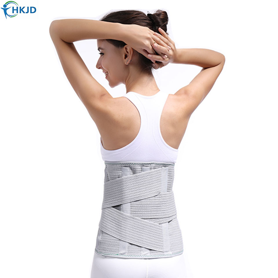 Medical High Back Brace Waist Belt Spine Support Men Women Belts Breathable Lumbar Corset Orthopedic Back
