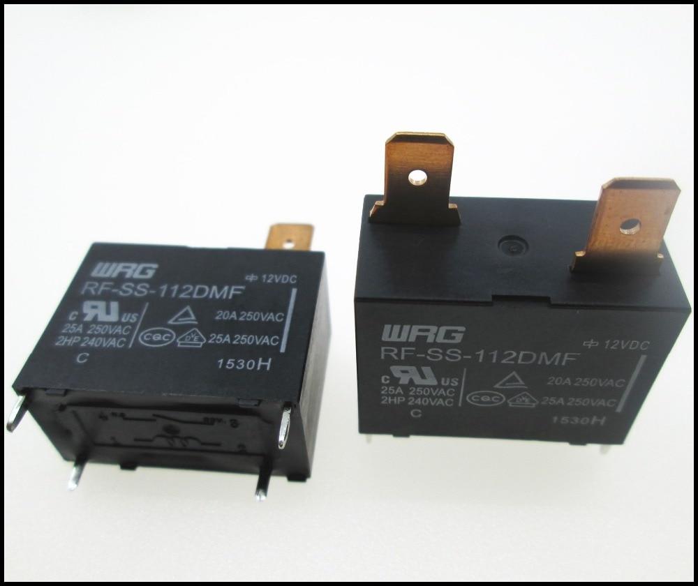 NEW relay RF-SS-112DMF RFSS112DMF 12VDC DC12V 12V 20A 250VAC DIP4 new 12v relay nt73 2c 12 dc12v nt73 2c s12 dc12v nt73 2c 12 12vdc nt732cs12 dc12v 12vdc 12v 6a 250vac 5pin