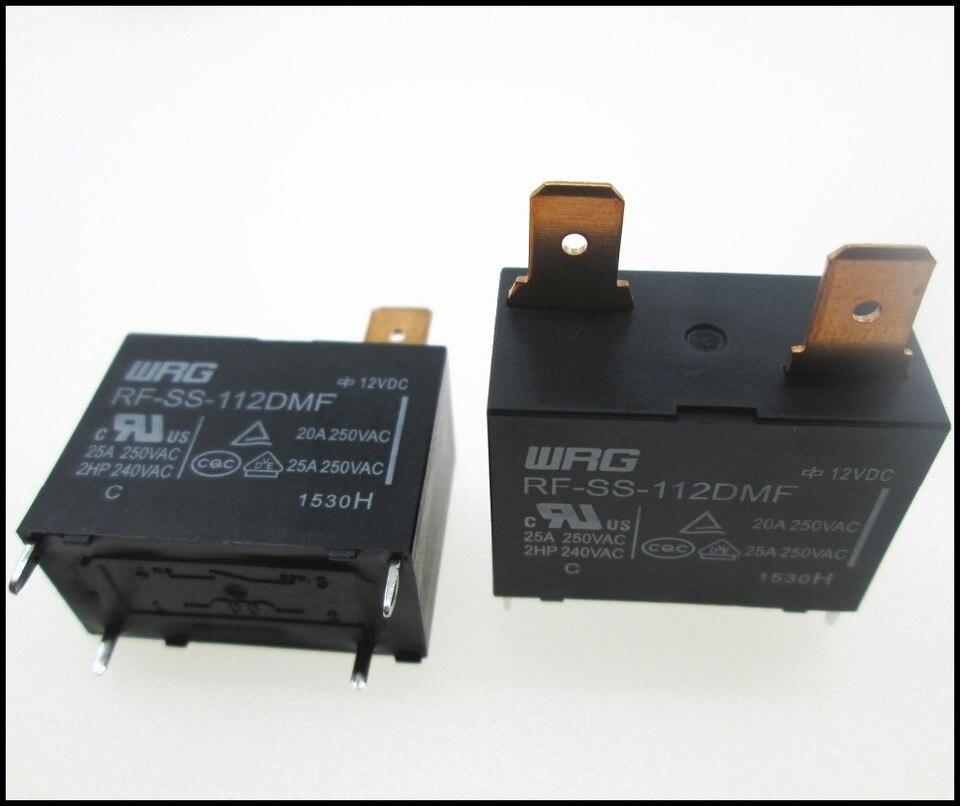 2pcs//set New RF-SS-112DMF 12VDC WRG RelaySN TB