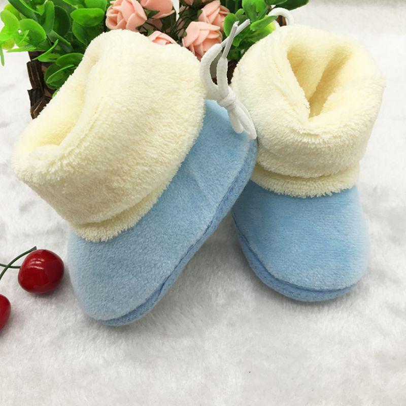 Hot New Winter Newborn Baby Baby Prewalker Shoes Infant Toddler Soft Soled First Walker Shoes