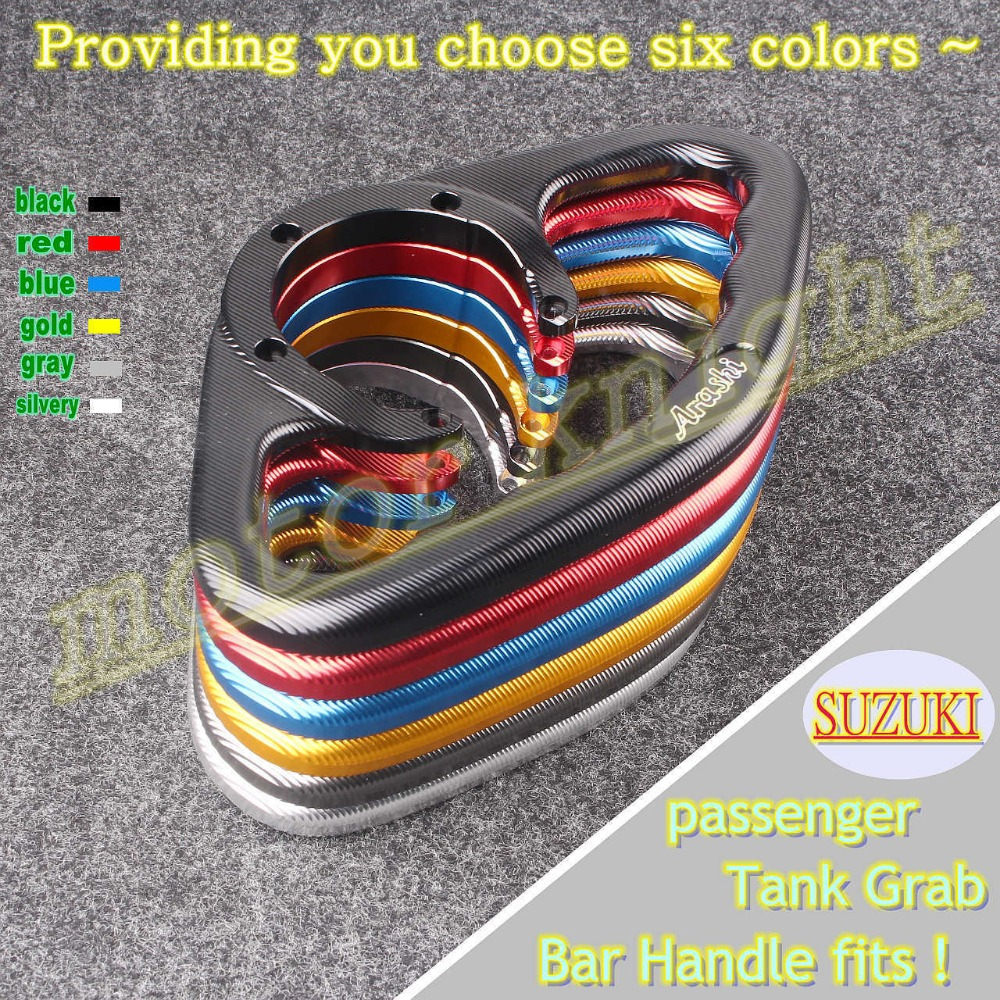 universal CNC tail rear manual tank cover grip For SUZUKI GSXR 600/750  GSXR1000 GSXR1300 Hayabusa SV650 GSX600F K5 K6 K7 K8 K9-in Grips from  Automobiles ...