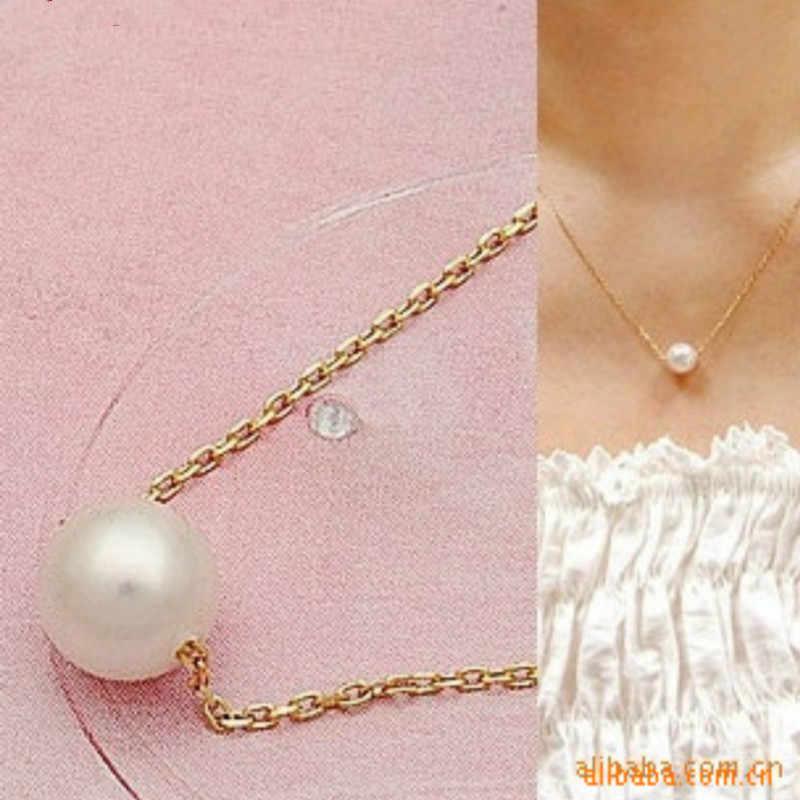 Новая Мода 2017 крутящийся ошейник ожерелье и имитация жемчуга ожерелье Женская подвеска ожерелье ювелирные изделия
