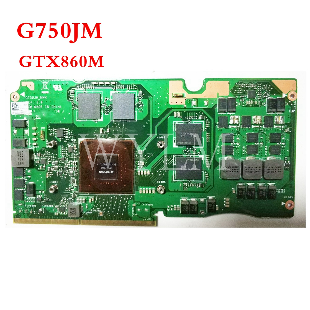Carte graphique G750JM GTX860M N15P-GX-A2 VGA pour ASUS Laptopo ROG _ MXMCarte graphique G750JM GTX860M N15P-GX-A2 VGA pour ASUS Laptopo ROG _ MXM