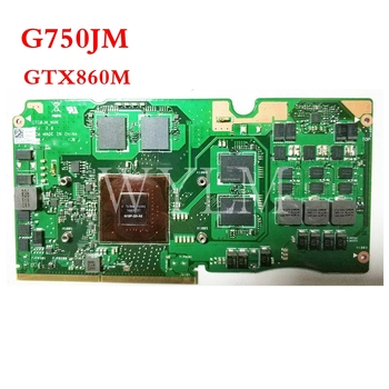 G750JM GTX860M N15P-GX-A2 VGA graphics card board  For ASUS Laptopo ROG  _MXM  Graphic  Video
