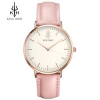 KING HOON Fashion Brand Luxury Watch Men Casual Watches Waterproof Watch Women 38MM Dress Relogio Masculino