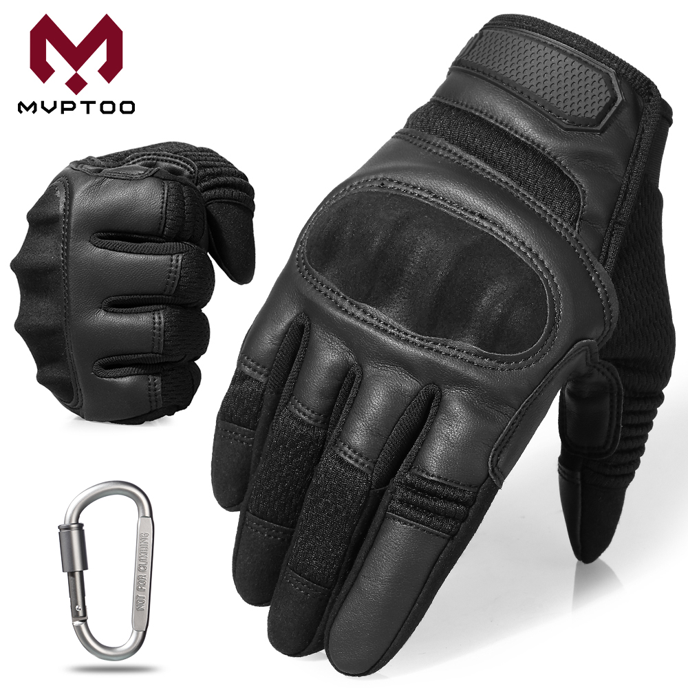 TouchScreen Motorcycle Gloves Moto Motorbike Motocross Driving Downhill Protective Gear Hard Knuckle Full Finger Glove Men