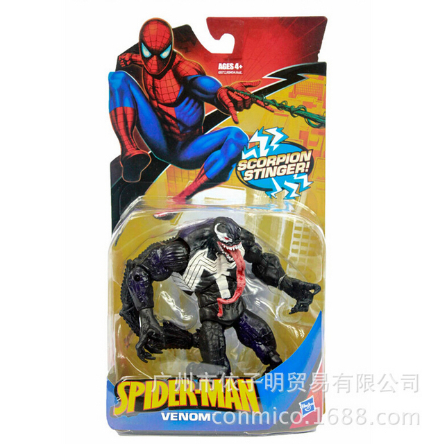 Spiderman Venom figuras de ação 15 cm PVC brinquedos coleção figuras brinquedos com caixa
