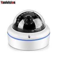 H.265 5MP 4MP 1080P ONVIF P2P IP Camera Motion Detection Surveillance IR Cut Night Vision Vandalproof Small Dome IP Cam POE