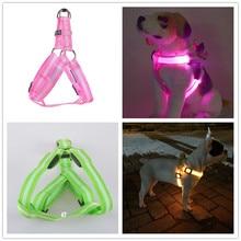 C02 Полосатая домашняя собака Светодиодные фонари для ремней безопасности для ремня с подсветкой для обычных собак Собранная USB-перезаряжаемая