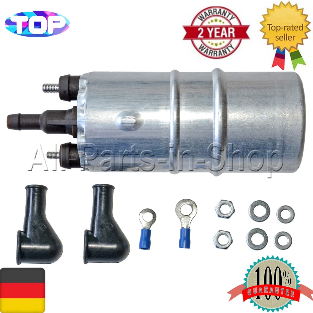 UK 12V Electric Fuel Pump 1-2PSI Motorcycle Replacement For Kawasaki 49040-1055