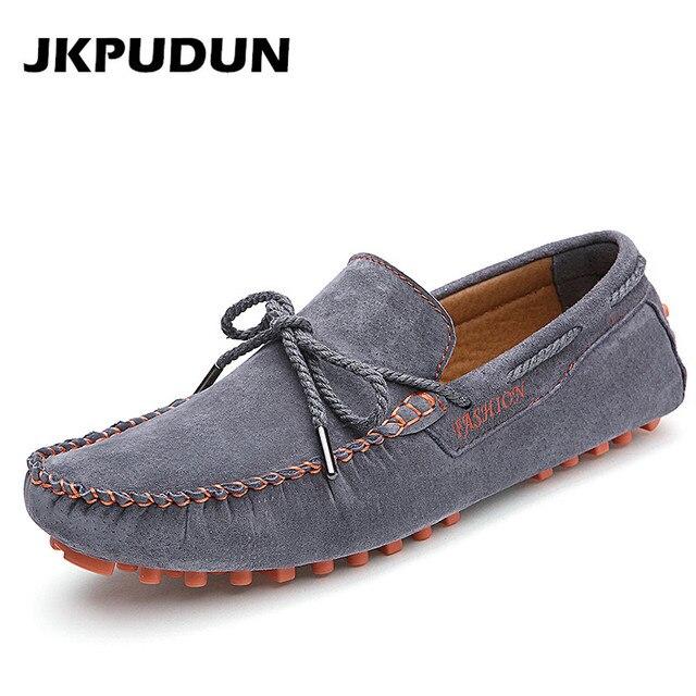 Homme Mocassin Fond Plat Marque De Luxe Hommes chaussures de conduite Qualité SupéRieure Chaussures Plates Nouvelle Mode Plus c2C4HOPN