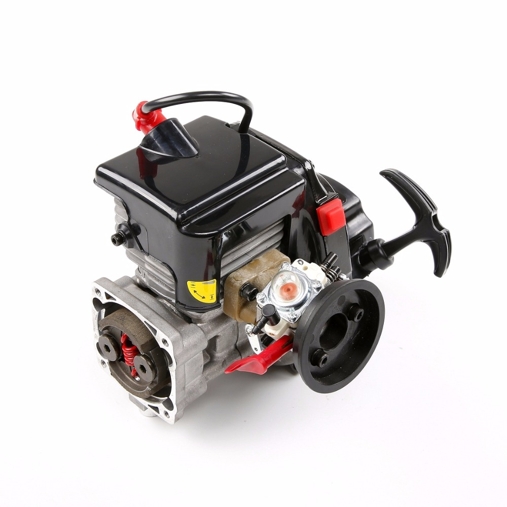 45CC 4 schrauben Motor Benzin Motor mit Walbro1107 NGK zündkerze FÜR 1/5 LOSI 5IVE T ROVAN LT KÖNIG MOTOR X2 RC AUTO TEILE - 3