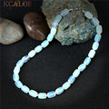KCALOE Chockers White Transparent Opal Fashion Jewelry Maxi Collier 2017 Handmade Strand Natural Stone Necklaces For Women