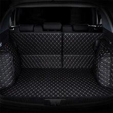 Mat Mala do carro de carga mat para Volkswagen vw Beetle CC Eos Tiguan Passat wagon L vw Touareg Phaeton Scirocco polo atlas