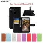 """For Essential Phone PH-1 Case Cover 5.71"""" Luxury Wallet PU Leather Back Cover Phone Case For Essential Phone PH-1 PH1 Case Flip"""