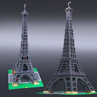 L Model Compatible with Lego L17002 3478PCS Eiffel Tower Models Building Kits Blocks Toys Hobby Hobbies For Boys Girls