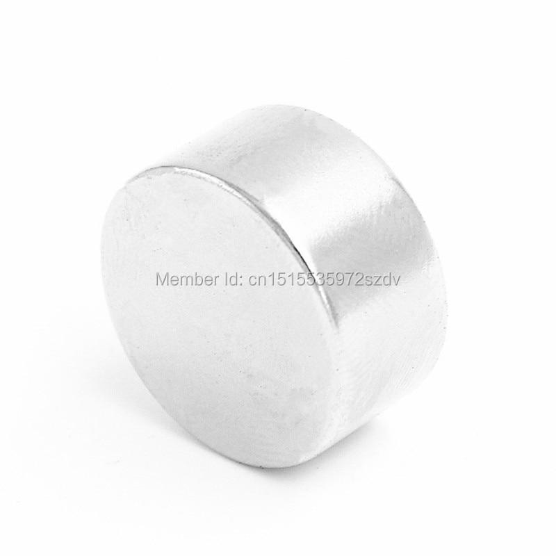 5pcs Strong Round Dia 50mm x20mm N35 Rare Earth Neodymium Magnet Art Craft Fridge free shipping цена