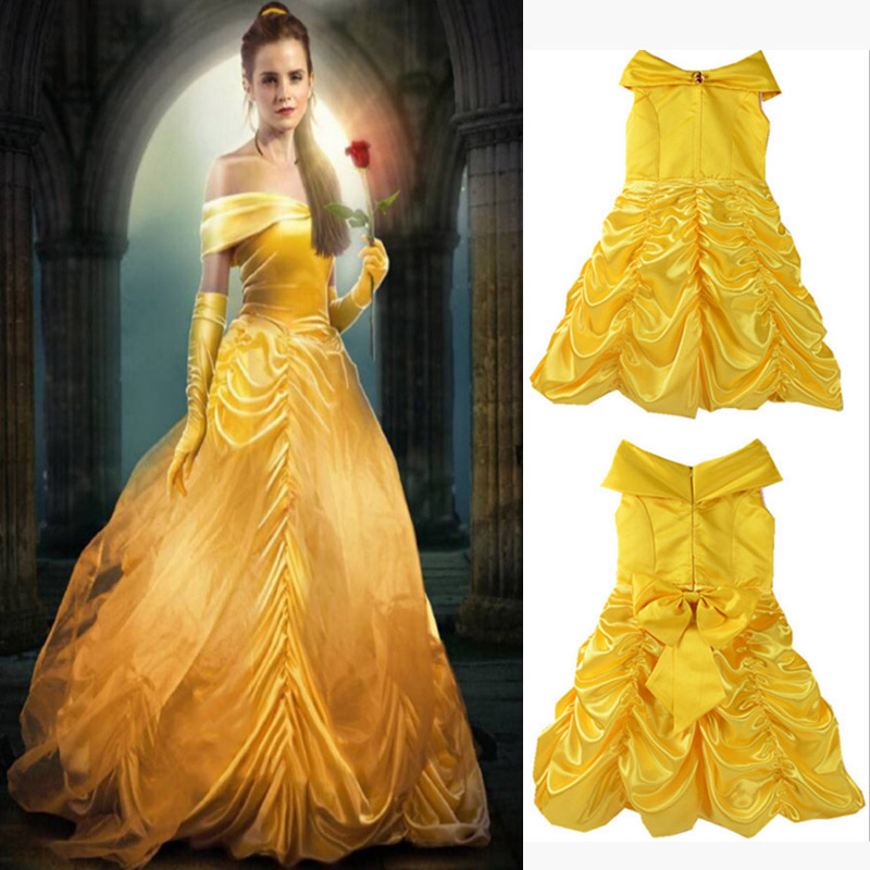 popular belle yellow gown buy cheap belle yellow gown lots from china belle yellow gown. Black Bedroom Furniture Sets. Home Design Ideas