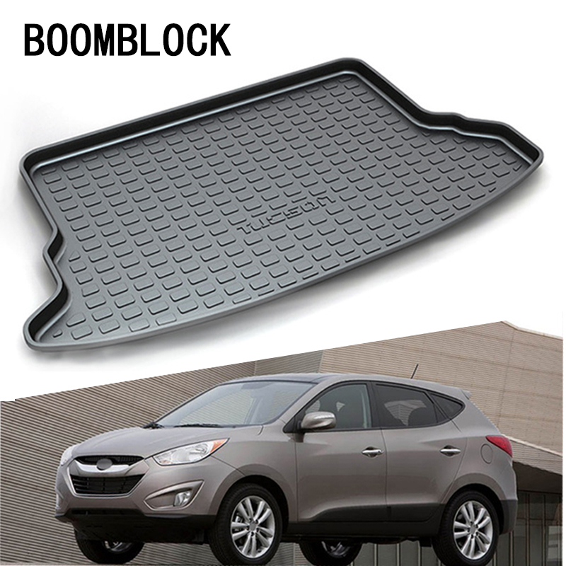 For Hyundai Tucson 2006 2007 2008 2009 2010 2011 2012 2013 2014 Waterproof Anti-slip Car Trunk Mat Tray Floor Carpet Pad for hyundai tucson 2006 2007 2008 2009 2010 2011 2012 2013 2014 waterproof anti slip car trunk mat tray floor carpet pad