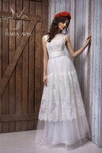 Princess White Wedding Bridal Gowns with Detachable Sashes 2015 Sleeveless Ball Gown Wedding Dress for Wedding Party