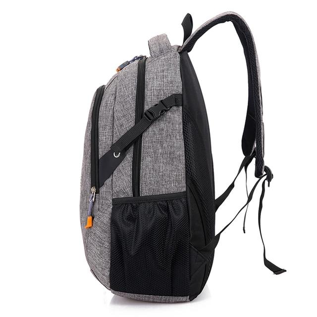 Unisex School Bag Waterproof Nylon Brand New Schoolbag Business Men Women Backpack Polyester Bag Shoulder Bags Computer Packsack 1